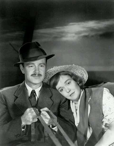 Lew Ayres & Jane Wyman