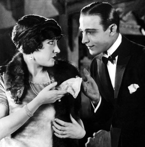 Rudolph Valentino & Gloria Swanson