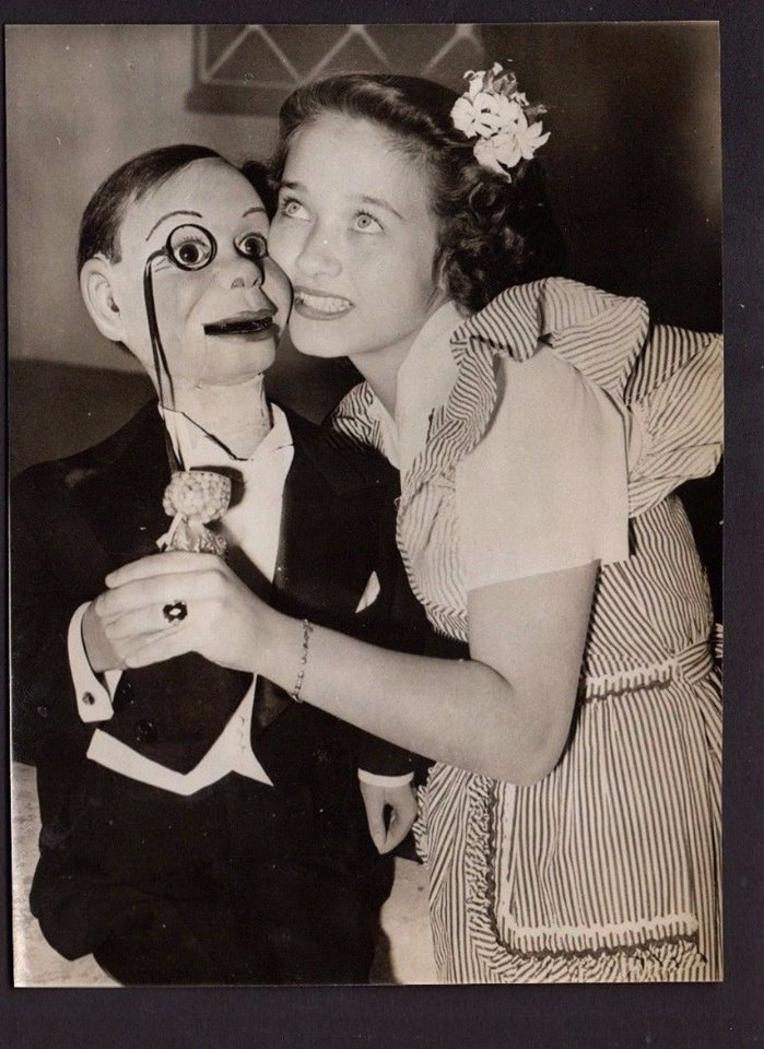 Charlie McCarthy and Jane Powell