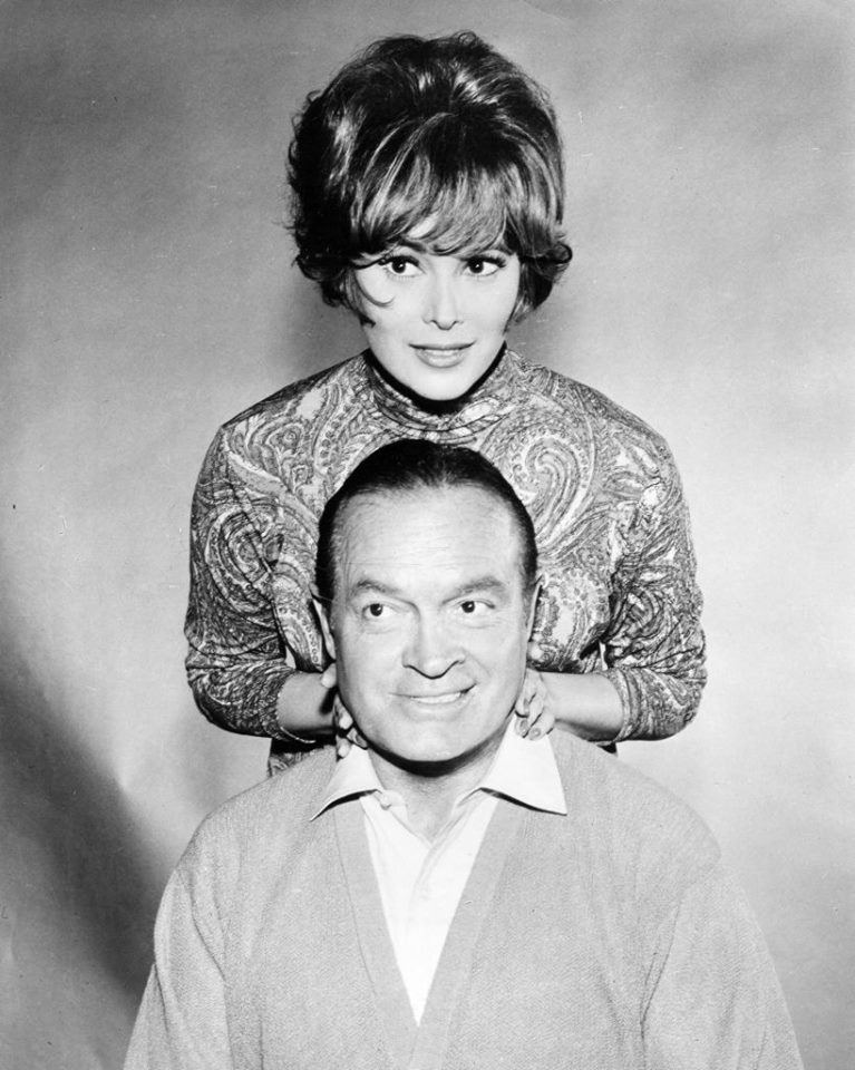 Bob Hope and Jill St. John.