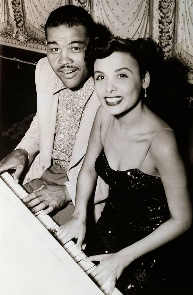 Joe Louis with Lena Horne