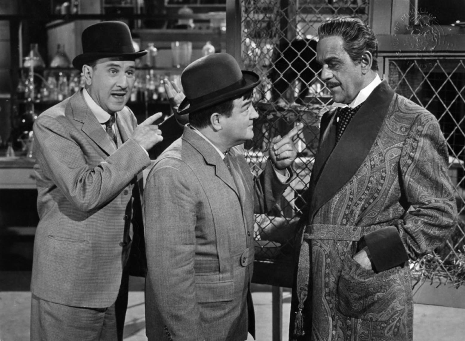 Abbott and Costello Meet Dr. Jekyll and Mr. Hyde (1953) with Boris Karloff.