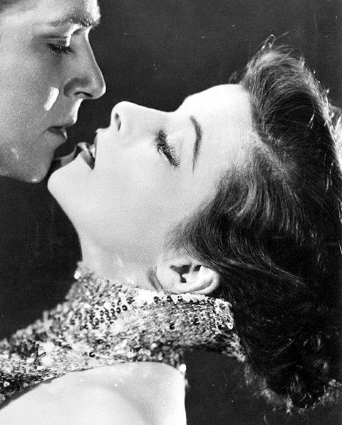 Douglas Fairbanks, jr & Katharine Hepburn