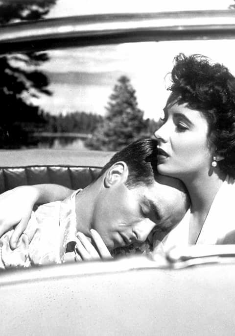 Montgomery Clift & Elizabeth Taylor