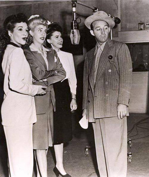 The Andrews Sisters drop by Bing Crosby's Kraft Music Hall, Jan 25, 1945