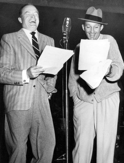 Bob Hope and Bing Crosby