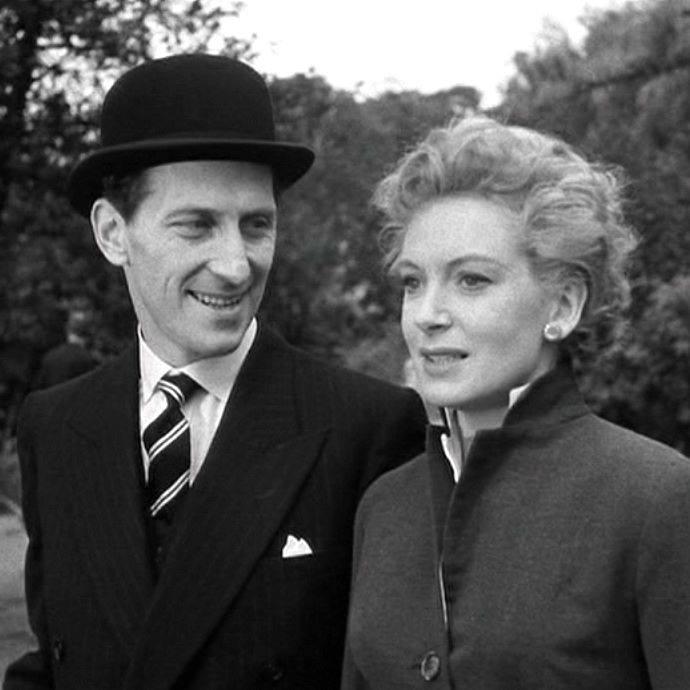 Peter Cushing & Deborah Kerr