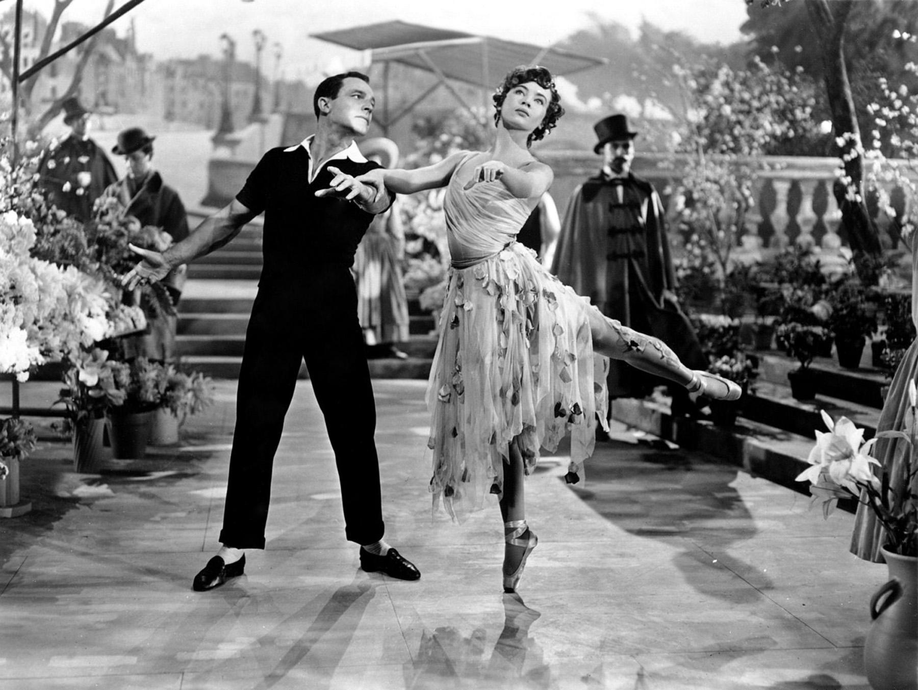 Gene Kelly With Leslie Caron