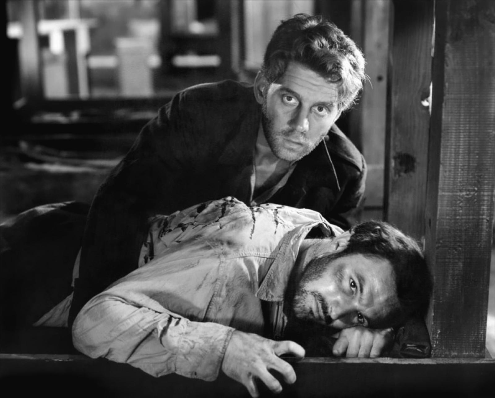 Gene Kelly with John-Pierre Aumont (top)