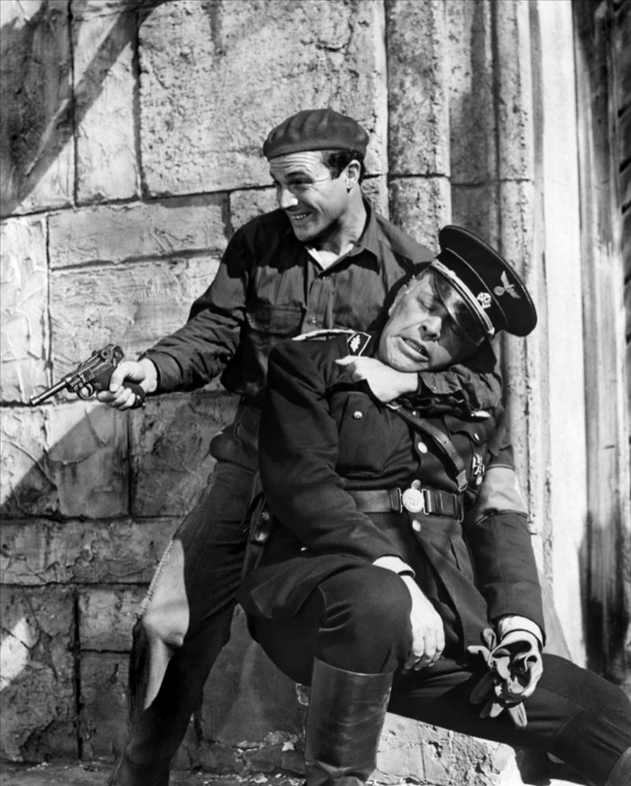 Gene Kelly with Lionel Royce (R)
