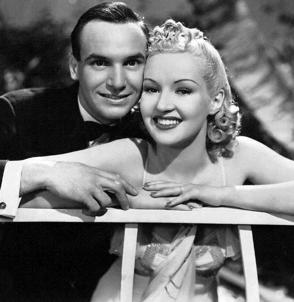 JACKIE COOGAN & BETTY GRABLE