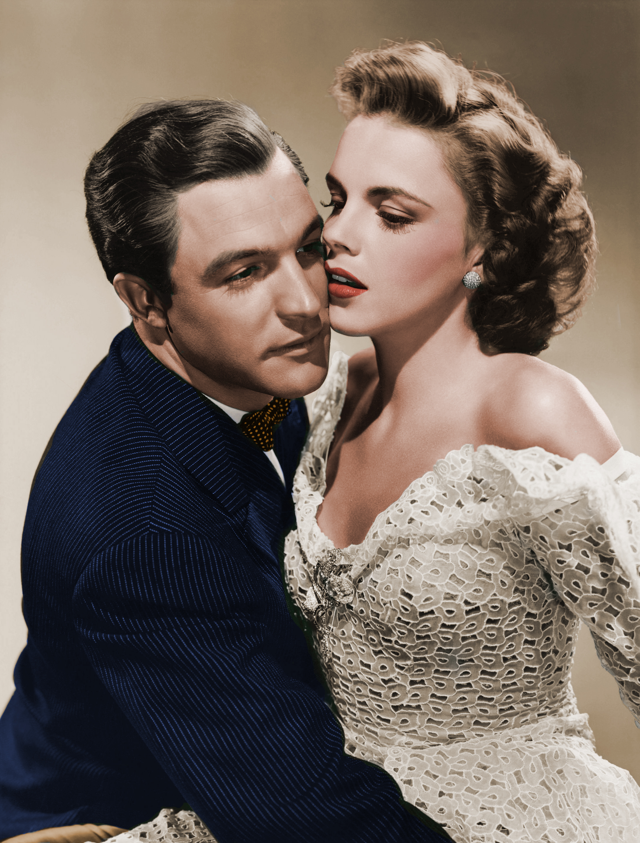 Gene Kelly with Judy Garland(Color by Eric)