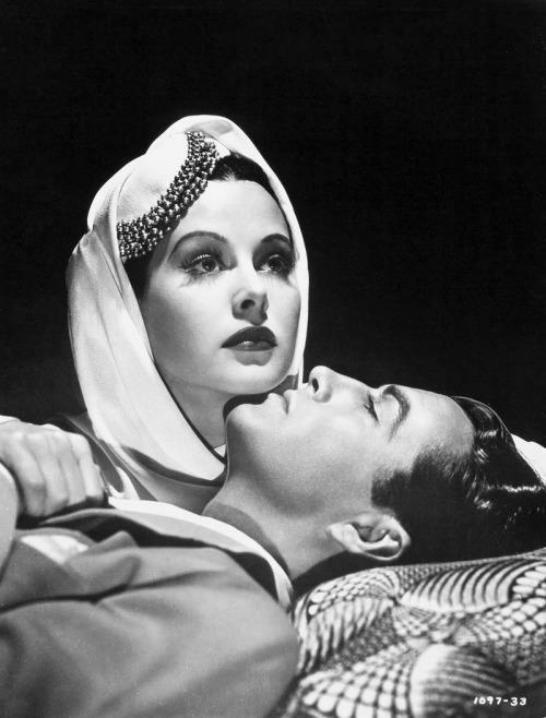 Hedy Lamarr & Robert Taylor