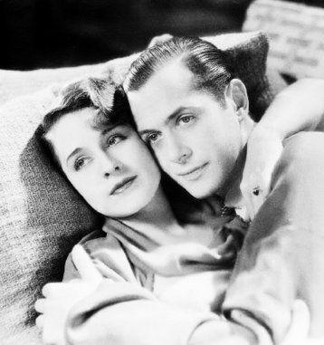 Norma Shearer & Robert Montgomery