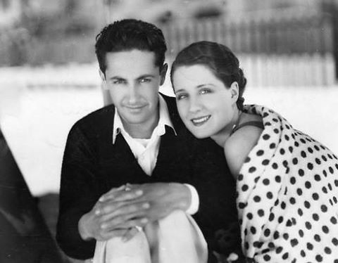 Irving Thalberg! Here he is with wife Norma Shearer