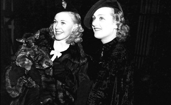 Ginger Rogers & Carole Lombard