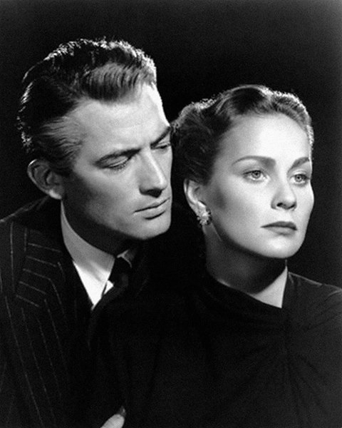 Gregory Peck & Alida Valli