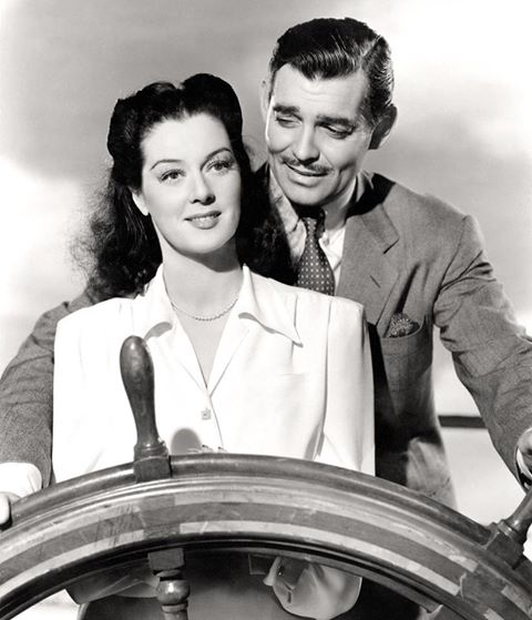 Clark Gable & Rosalind Russell