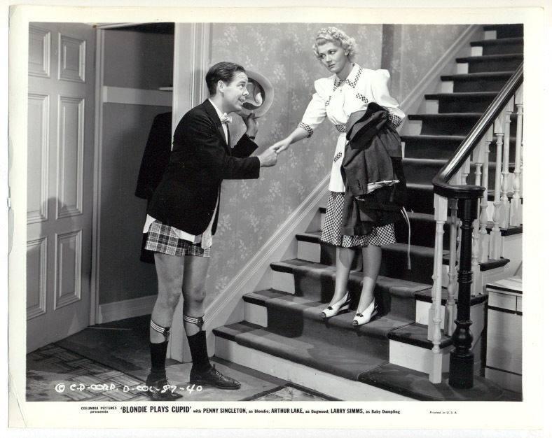 Arthur Lake and Penny Singleton