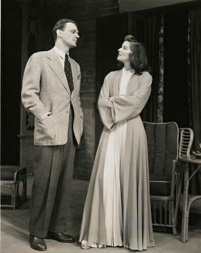 Joseph Gotten & Katharine Hepburn