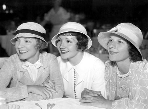 Helen Hayes, Claudette Colbert and Ruth Gordon