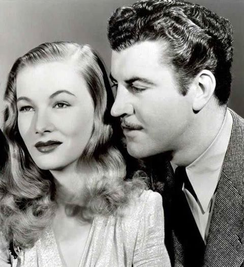 Robert Preston & Veronica Lake