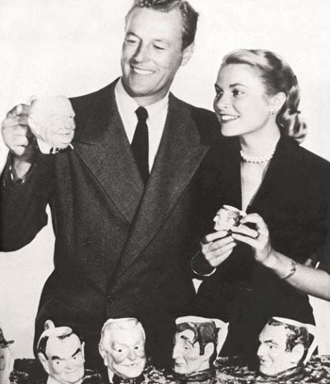 Grace Kelly and James Warren