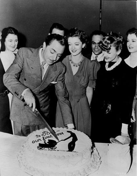 William Powell celebrating his birthday