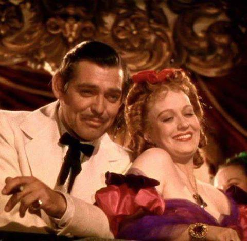 Clark Gable & Ona Munson