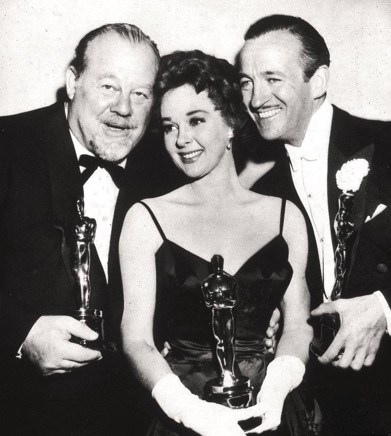 Burl Ives, Susan Hayward & David Niven