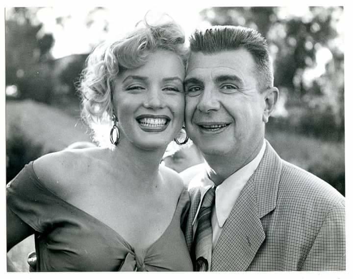 Marilyn Monroe at Ray Anthony