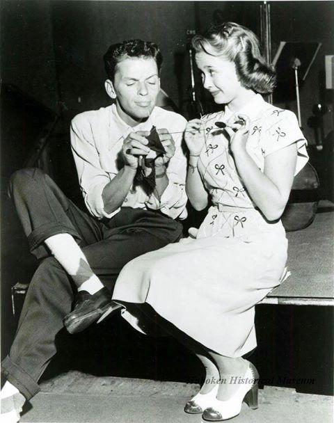 Frank Sinatra and Jane Powell