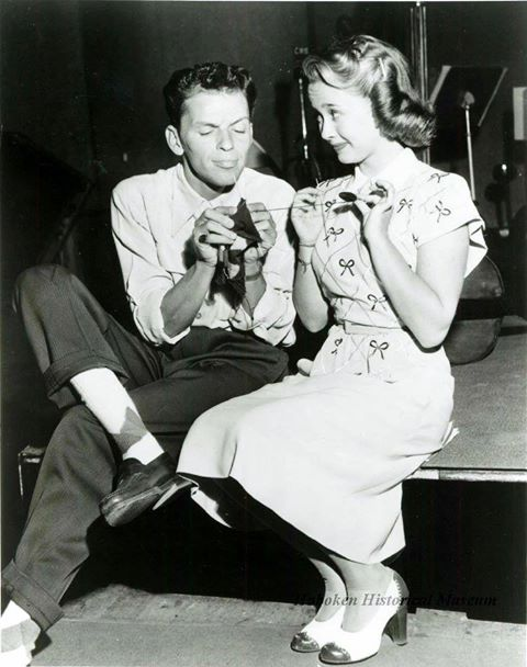 Frank Sinatra and Jane Powell