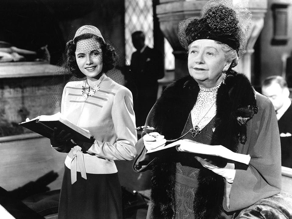 Teresa wright & Dame May Whitty