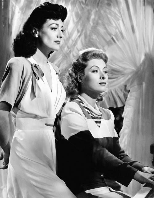 Joan Crawford & Greer Garson