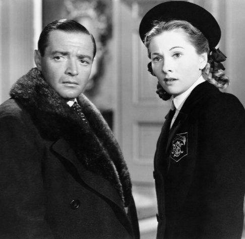 Peter Lorre & Joan Fontaine