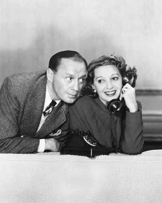 Mary Livingstone and Jack Benny