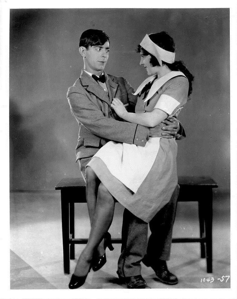 Eddie Cantor and Jobyna Ralston