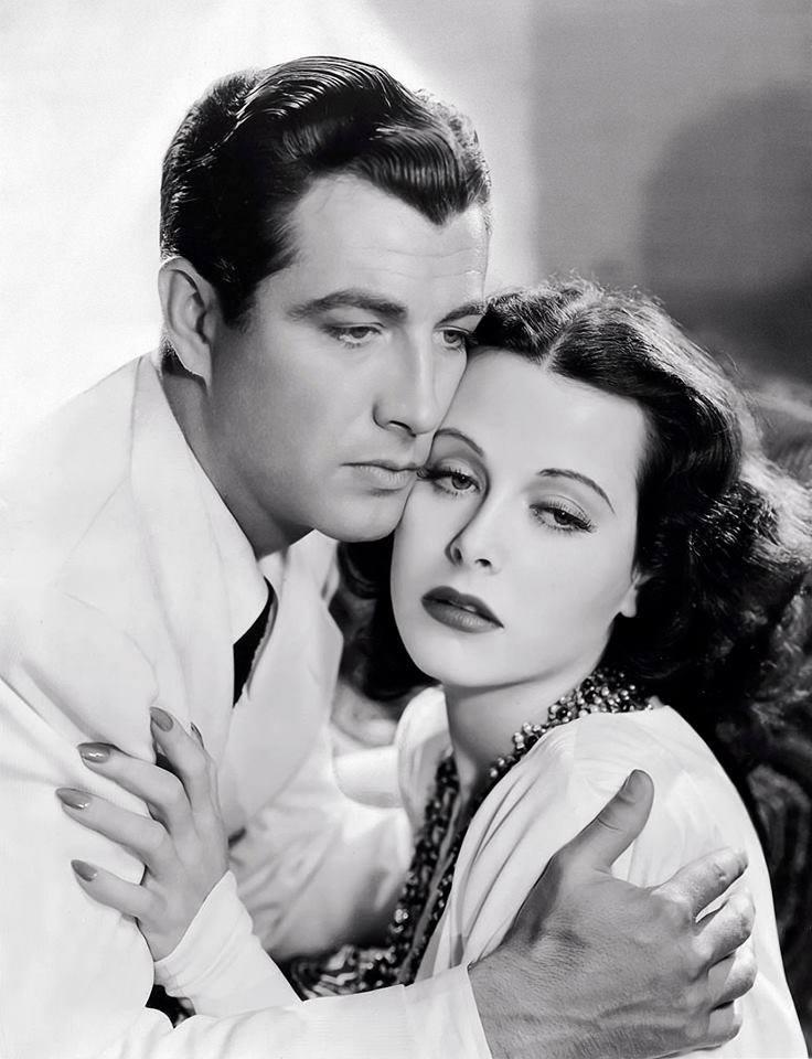 Robert Taylor & Hedy Lamarr
