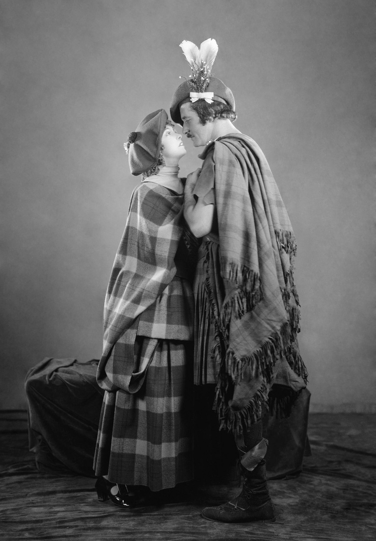 Lillian Gish with Norman Kerry