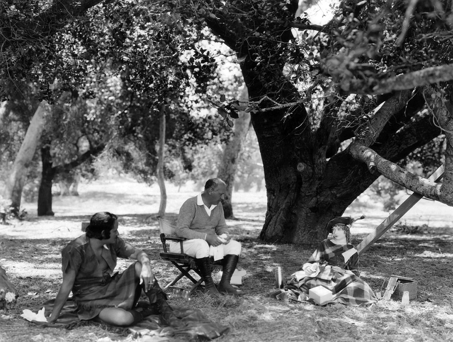 Lillian Gish with Norman Kerry and John S. Robertson.