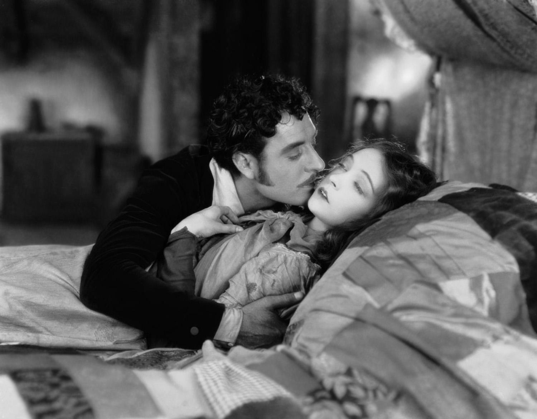 Lillian Gish with John Gilbert