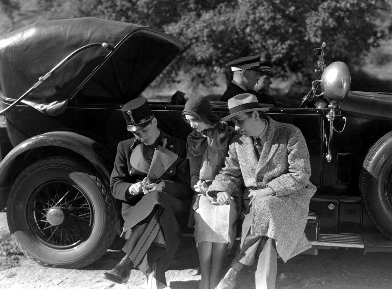 Lillian Gish with  Rod La Rocque and O.P. Heggie.