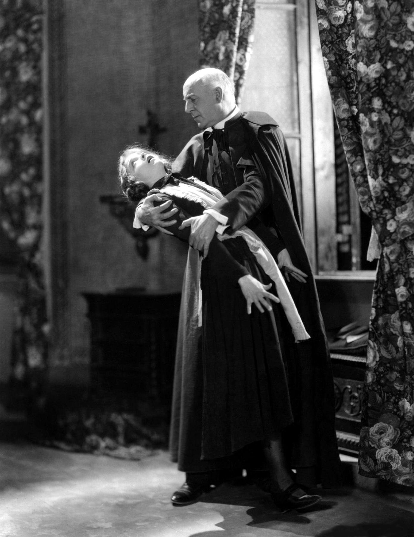 Lillian Gish with J. Barney Sherry