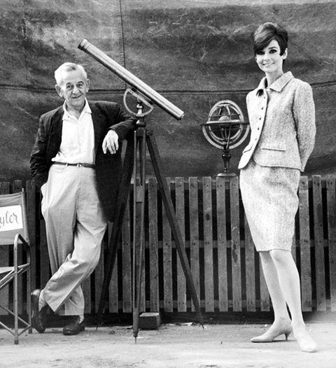 WILLIAM WYLER & AUDREY HEPBURN