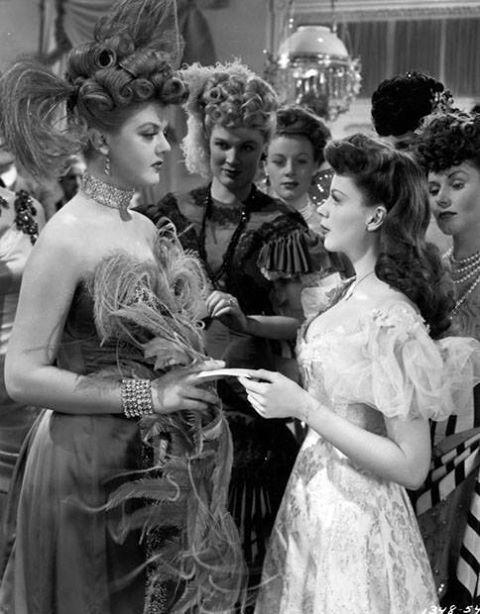 Angela Lansbury & Judy Garland