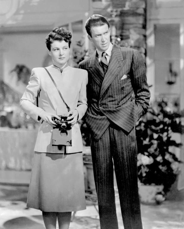 Ruth Hussey & James Stewart