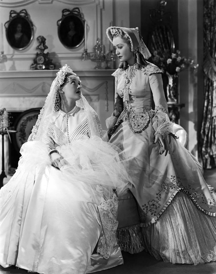 Bette Davis & Miriam Hopkins