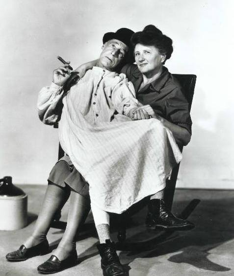 Percy Kilbride! Here he is with Marjorie Main for Ma and Pa Kettle.