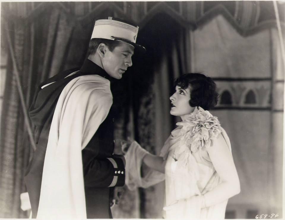 Gary Cooper & Evelyn Brent